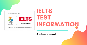 IELTS TEST Information The Boston School