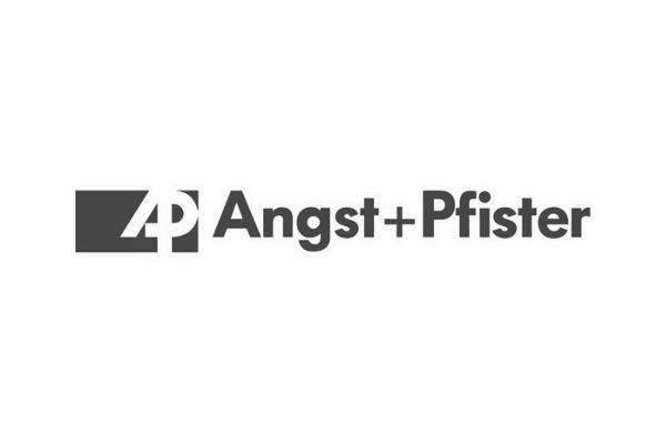 Angst + Pfister Grey Logo